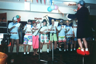 januari 1992 Het (officiele) begin